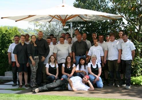 Unser Galabau-Team 2012