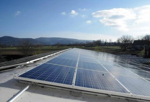 Unsere Solaranlage