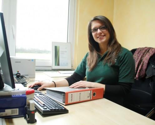 Mirjam Harm, Teamassistentin im Landschaftsbau